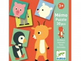Djeco Memo Puzzle - Animal DJ08126